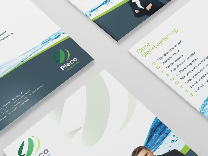 Pleco Cleaning Corporate Identity