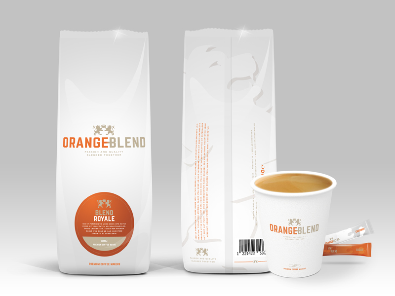 Orange Blend Packaging